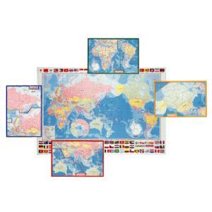 世界地図パズル|shichida