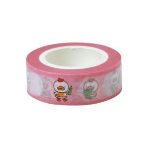 しちだっく マスキングテープ(ピンク)|shichida