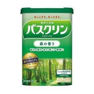 バスクリン 森の香り 600g|shichikuya