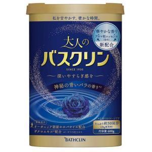 大人のバスクリン 神秘の青いバラの香り 600g|shichikuya