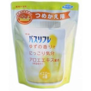 ライオンケミカル 薬用入浴剤 バスリフレ ゆずの香り 詰替え用 540g