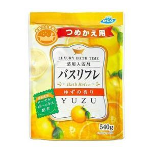 ライオンケミカル 薬用入浴剤 バスリフレN ゆずの香り 詰替え用 540g |shichikuya