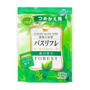 ライオンケミカル 薬用入浴剤 バスリフレN 森の香り 詰替え用 540g |shichikuya