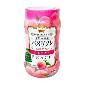 ライオンケミカル 薬用入浴剤 バスリフレN 桃の香り 本体 680g |shichikuya