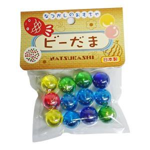 オンダ なつかしのおもちゃ ビーだま 12個入り 【日本製】|shichikuya