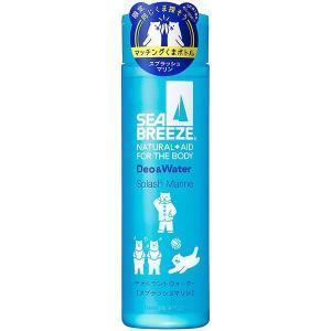 SEA BREEZE(シーブリーズ) デオ&ウォーターA  スプラッシュマリン 160ml  (医薬部外品)  エフティ資生堂|shichikuya