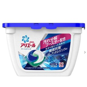 P&G アリエール パワージェルボール3D 17個入り オーシャングリーンの香り|shichikuya