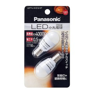 パナソニック LED小丸電球 LDT1LHE122T 電球色相当|shichikuya