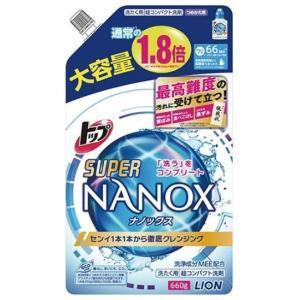 ライオン スーパーNANOX つめかえ用大 660g|shichikuya