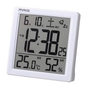 ノア精密 デジタル時計 MAG カッシーニ T-726WH-Z shichikuya