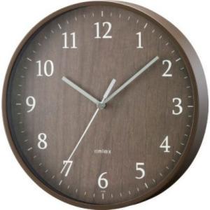 ノア精密 掛け時計 フォレストランド ブラウン W-545BR shichikuya