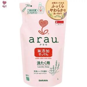 サラヤ アラウ洗濯用せっけん詰替用1L |shichikuya
