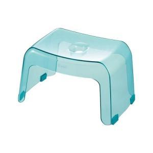 リッチェル カラリ 風呂椅子  腰かけ 高さ20cm アクアブルー|shichikuya