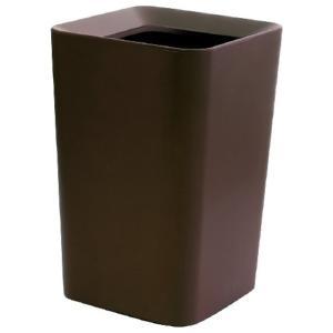 アスベル ゴミ箱 ルクレールCV 角型  ブラウン(2重構造ゴミ箱) shichikuya