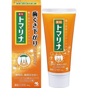 トマリナ 歯ぐきさがりが気になる方に 薬用ハミガキ  90g 小林製薬|shichikuya