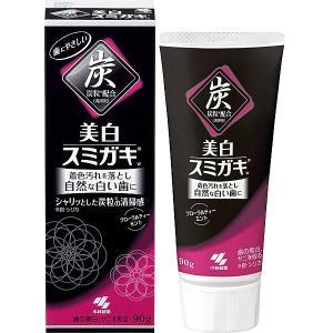 美白スミガキ 炭粒(炭・シリカ)配合  90g 小林製薬|shichikuya