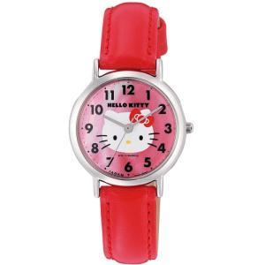 ハローキティ HELLO KITTY 0017N002 子供用腕時計 日本限定販売モデル シチズン Q&Q サンリオ メール便250円対応|shien