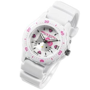 シチズン 腕時計 Q&Q ハローキティ 日本製 HELLO KITTY MADE IN JAPANモデル ホワイト×ホワイト 0027N001 サンリオ メール便250円対応|shien