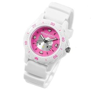 シチズン 腕時計 Q&Q ハローキティ 日本製 HELLO KITTY MADE IN JAPANモデル ピンク×ホワイト 0027N002 サンリオ メール便250円対応|shien