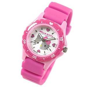 シチズン 腕時計 Q&Q ハローキティ 日本製 HELLO KITTY MADE IN JAPANモデル ホワイト×ピンク 0029N001 サンリオ メール便250円対応|shien