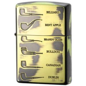 ジッポー オイルライター パイプライター シェイプデザイン 両面加工 ブラス zippo ジッポ メール便250円対応|shien