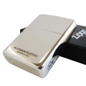 ジッポーライター アーマーモデル プラチナコーティング アンミックスシリーズ ジッポ ZIPPO ARMOR メール便250円対応|shien