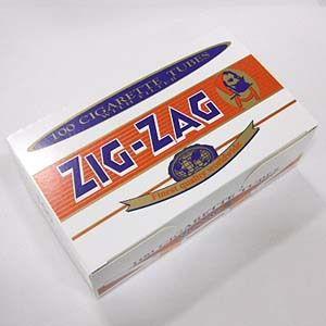 ジグザグ レギュラーチューブ フィルター付さや紙 100本入り チュービング ZIG-ZAG  シャグ メール便発送は出来ません|shien