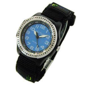カクタス 子供用 腕時計 マジックバンド ブルー文字盤 CAC-45-M03 メール便250円対応|shien