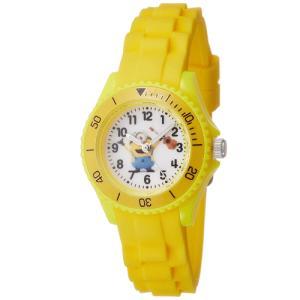 ミニオンズ アナログ シリコンラバーベルト イエロー DES002-3 フィールドワーク 腕時計 USJ ネコポス300円可|shien