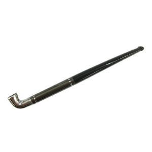 ファインパイプ Fine Pipe クロームガンメタドット 煙管 キセル シガレットホルダー両用 メール便250円対応|shien