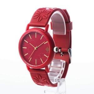 椿レッド 香 KAORU 和の香りがする腕時計 日本製 MADE IN JAPAN かおる フレグランスウォッチ kaoru japanese fragrance watch 赤 おみやげ|shien