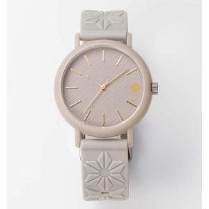 柚子グレー 香 KAORU 和の香りがする腕時計 日本製 MADE IN JAPAN かおる フレグランスウォッチ kaoru japanese fragrance watch おみやげ|shien