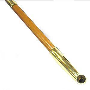 きせる キセル 煙管 真鍮 都上石州 6寸〜6寸5分 16908080 メール便250円対応|shien
