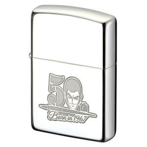 ジッポ ルパン三世 50周年記念 第1弾 記念ロゴデザイン 限定ZIPPOライター #200ver. Zippo 喫煙具 ジッポーライター|shien