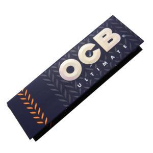 OCB オーシービー アルティメイト シングル 世界史上最薄巻紙 巻きたばこ用 ペーパー 50枚入り...