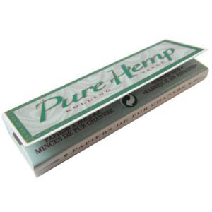 ピュアヘンプ シングルペーパー 50枚入り pure hemp シャグ 喫煙具 手巻き メール便250円対応|shien