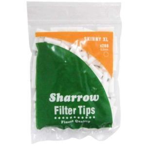 シャロウ sharrow 6 x 20mm 手巻きタバコ用スリム6ミリフィルター 手巻きタバコ用フィルター200個入り シャグ 喫煙具 メール便250円対応|shien