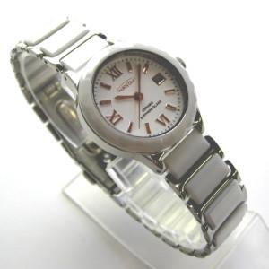 オレオール 腕時計 ホワイト レディスウォッチ セラミック SW-481L-6|shien