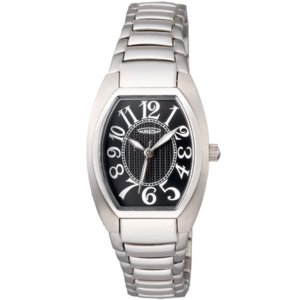 オレオール 腕時計 メタルバンドウォッチ 両面シリンドルガラス 型打ち文字盤 レディースウォッチ SW-488L-1 AUREOLE オールステンレス|shien