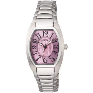 オレオール 腕時計 メタルバンドウォッチ 両面シリンドルガラス 型打ち文字盤 レディースウォッチ SW-488L-4 AUREOLE オールステンレス|shien