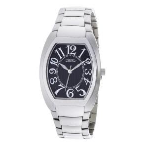 オレオール 腕時計 メタルバンドウォッチ 両面シリンドルガラス 型打ち文字盤 メンズウォッチ SW-488M-1 AUREOLE オールステンレス 男性用|shien