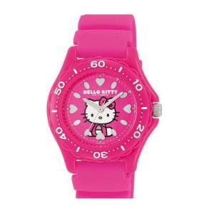 ハローキティ 腕時計 キッズ ウレタンピンク 10気圧防水 日本販売限定モデル シチズン Q&Q サンリオ vq75-430 メール便250円対応|shien