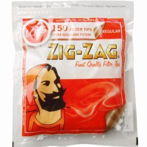 ジグザグ ロングレギュラーフィルター 巻きたばこ用 約150個入り ZIG-ZAG シャグ メール便250円対応 shien