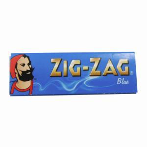 ジグザグ 巻きたばこ用ペーパー 50枚入り ブルー スローバーニング シングル ZIG-ZAG シャグ メール便250円対応|shien
