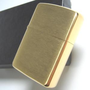 ZIPPO ジッポー アーマー ブラスブラッシュフィニッシュ メール便250円対応|shien