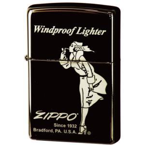 ジッポ ジッポーライター zippo ブラックアイス ウィンディ 2  メール便250円対応|shien