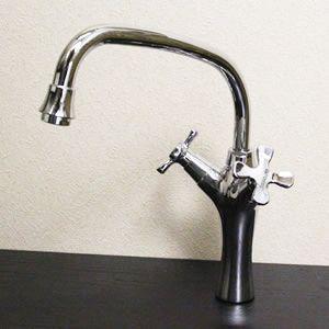 信楽焼 立ち水栓  手洗い鉢用の立水栓 混合水栓  se-0006|shigaraki