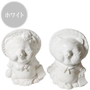 信楽焼 キス狸ペア  たぬき 縁起物 陶器 たぬき置物  狸  ta-0220|shigaraki|04