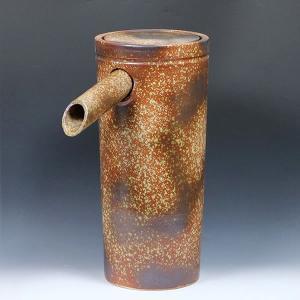 吐水口 湯差し口 湯こぼし 湯つぼ 陶器吐水口 湯口 信楽焼 しがらきやき 陶器 やきもの 蛇口 ts-740|shigaraki
