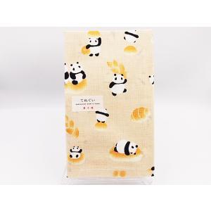 かわいい 手ぬぐい パンパンダ てぬぐい インテリア 濱文様 ギフト 和柄 レディース 日本製|shigemori